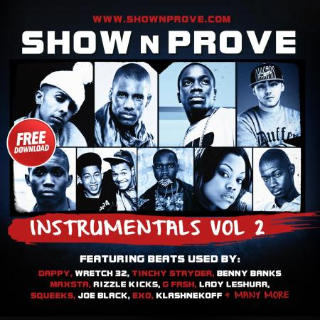 Show N Prove - Instrumentals Volume 2 (FRONT COVER)